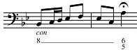 eine Lentando Stelle im Bass in allen Ausgaben