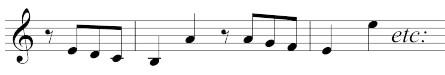 MW_WeV-E04, Takt 1–3 der Szene und Arie aus Demetrio