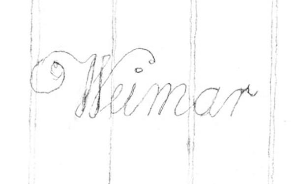 Handschriftliche Kopie der Wasserzeichen der Stimmen