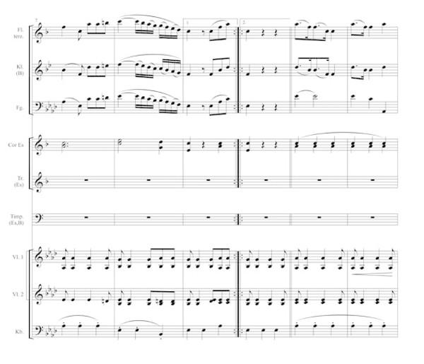 Trio der Polonaise Nr.1 von Agthe, S.2