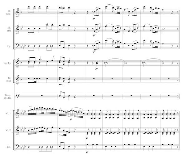 Trio der Polonaise Nr.1 von Agthe, S.6