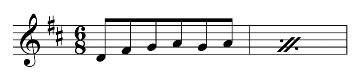 Beispiel: Abbreviaturen für zweifelsfrei begrenzte Repetitionen von Notengruppen