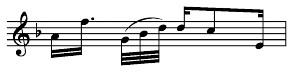 Balkensetzung bei besonderer Rhythmik 1