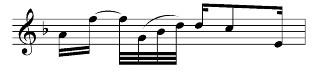 Balkensetzung bei besonderer Rhythmik 2