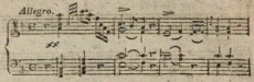 Sonate Nr.1, Allegro, T.1–4