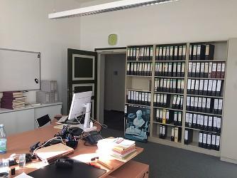Blick in die neuen Büroräume