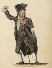 Joseph Allram als Bocksfell in Die Gartenmauer (Kunstbibliothek der Staatlichen Museen zu Berlin PK, Lipperheidesche Kostümbibliothek, Lipp Za 34 m R)