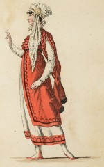 Augustine Nuth (spätere Czermak) als Moska in Faniska (Kunstbibliothek der Staatlichen Museen zu Berlin PK, Lipperheidesche Kostümbibliothek, Lipp Za 34 m R)