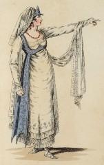 Luigia Caravoglia-Sandrini als Elisene (Kunstbibliothek der Staatlichen Museen zu Berlin PK, Lipperheidesche Kostümbibliothek, Lipp Za 34 m R)