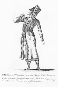 Grünbaum, Johann Christoph (Rollenbild als Ferrando in Così fan tutte)