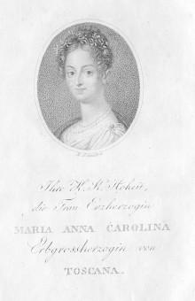 Maria Anna Carolina, Prinzessin von Sachsen