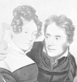 Karl Borromäus von Miltitz mit seiner Frau Auguste, geb. von Watzdorf