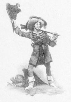 Horn, Charles Edward (Rollenbild als Kaspar im Freischütz)