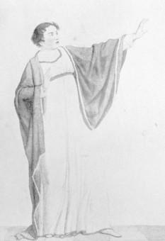 Weixelbaum, Josephine (Rollenbild: Orazia in Orazi e Curiazi)