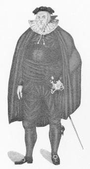 """Haffner, Friedrich Wilhelm (Rollenbild: Bürgermeister Hildebrand in den """"Hussiten vor Naumburg"""""""