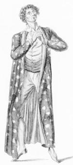 Ochsenheimer (Rollenbild als Franz Moor)