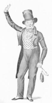 Rösicke, Eduard Carl (Rollenbild als Tischler Hühnchen im Fest der Handwerker)