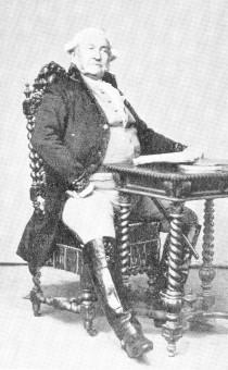 Maurer, August Wilhelm (Rollenbild als Oberförster in Ifflands Jägern)