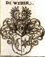 Webersches Wappen in Siebmachers Wappenbuch, Tafel 39